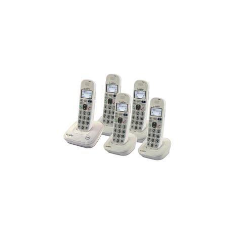 Clarity D702 DECT 6.0 Amplified/Low Vision Cordless Phone with CID Display