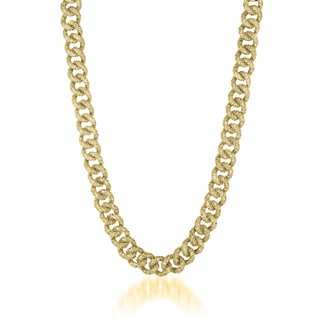 Collette Z Gold Overlay Thick Chain Necklace