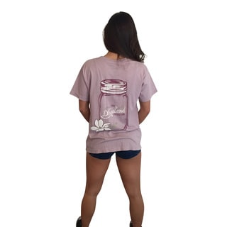 Mason Jar Lavender Short Sleeve Pocket T-Shirt