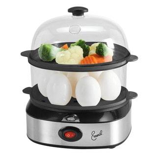 Emeril 2-in-1 Plastic/Stainless Steel Egg Cooker and Steamer