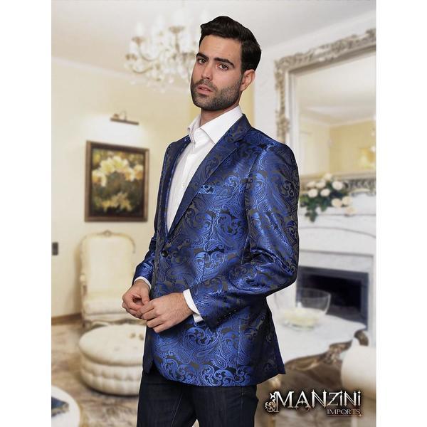 Men's Manzini Royal Woven sport coat