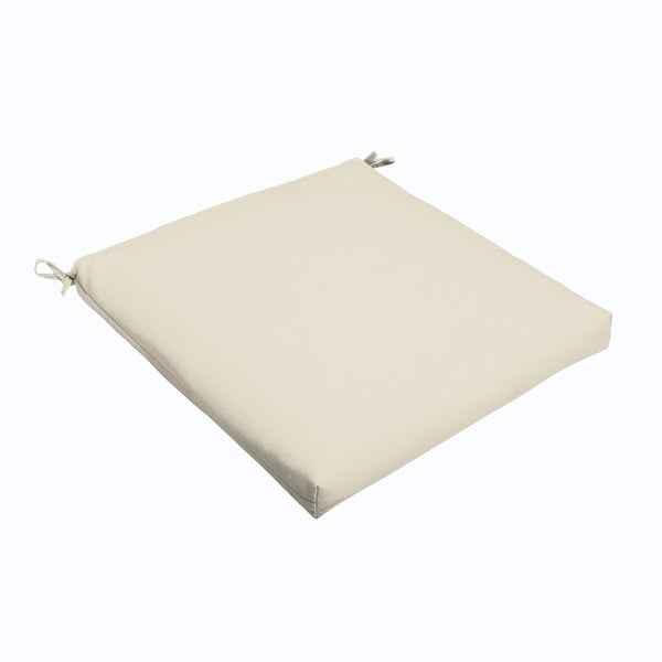 Ivory 19 x 2.5-inch Chair Cushion - Bristol (As Is Item). Opens flyout.