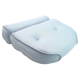 Home Spa Luxury Bolster Bath Pillow