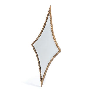Diamond Studded Mirror