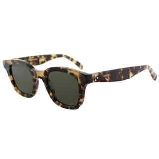 Celine CL 41376 Sacha 3Y7 Honey Havana Plastic Square Sunglasses Grey Lens