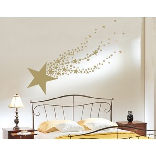Shooting Star Wall Decal (More options available)