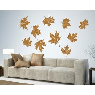 Flyling Leaves Wall Decal