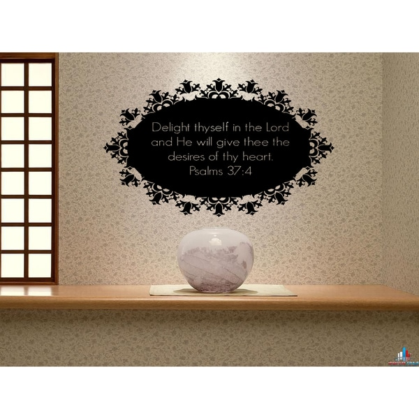 The Lord S Love Wall Decal: Shop Beautiful Words Delight In The Lord