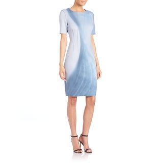 Elie Tahari Gwenyth Reversible Scuba Dress