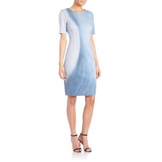 Elie Tahari Gwenyth Reversible Scuba Dress