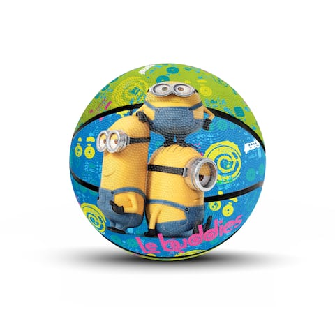 """Hedstrom Jr Athletic Minions Rubber Basketball - Multi - 7"""""""