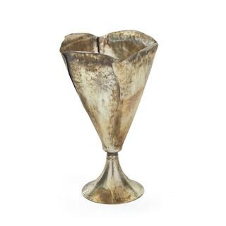 Polished Tin Vase