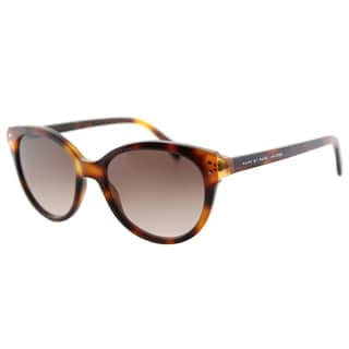 Marc by Marc Jacobs MMJ 461 A8X Havana Orange Plastic Cat-Eye Sunglasses Brown Graident Lens