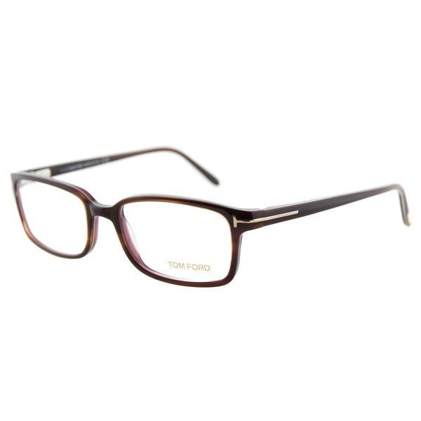 997a105041610 Shop Tom Ford FT 5209 047 Tortoise Plastic Eyeglasses 53mm - Free ...