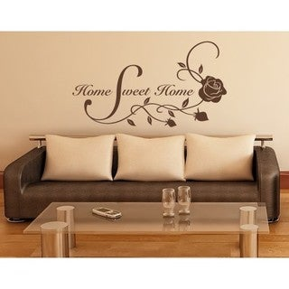 Home Sweet Home Wall Decal Part 79