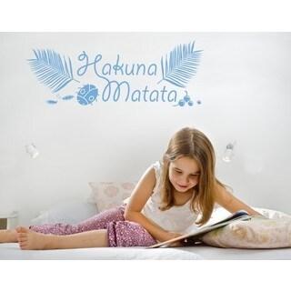 Hakuna Matata Kids Wall Decal