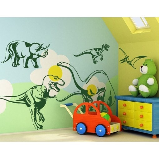 Dino Set Wall Decal