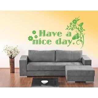 Nice Day Wall Decal