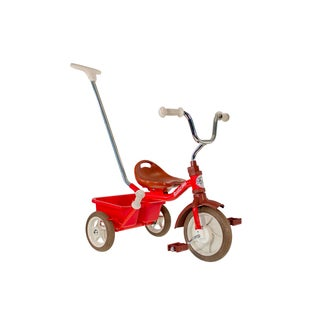 Italtrike 10-inch Passenger Classic Champion Red Tricycle
