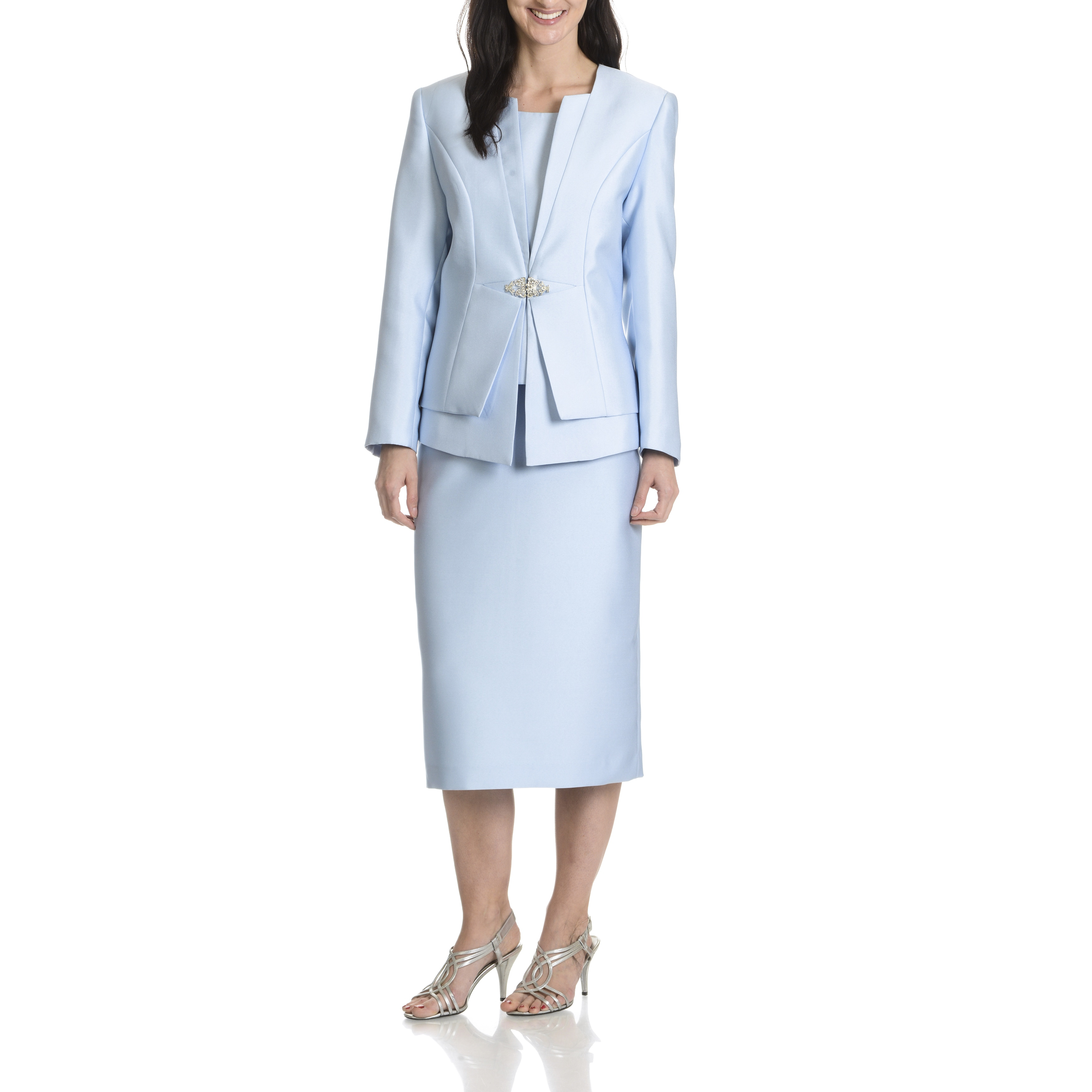 Giovanni Giovanna Collection Women's Layered 3-Piece Skir...