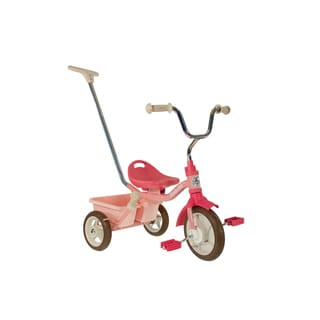Italtrike 10-inch Passenger Classic Rose Garden Tricycle