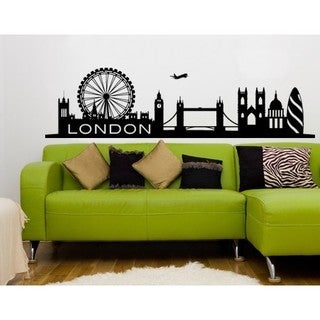 London City Skyline Cityscape Wall Decal