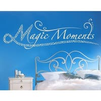 Magic Moments Wall Decal