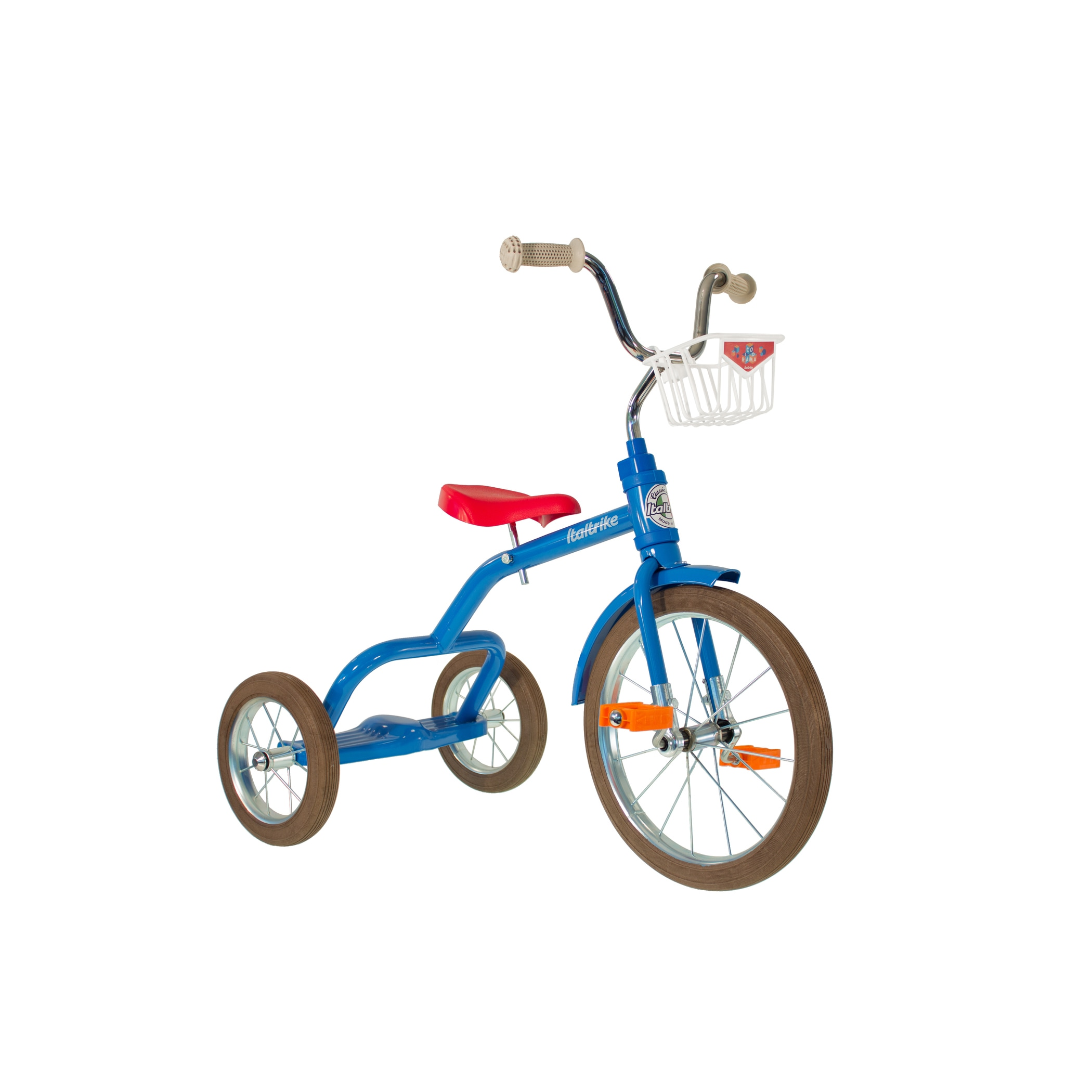 Italtrike 16 in. Spoke Colorama Tricycle - 8218BLUE