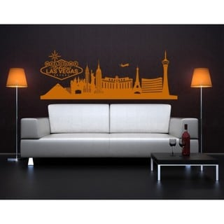 Las Vegas City Skyline Cityscape Wall Decal
