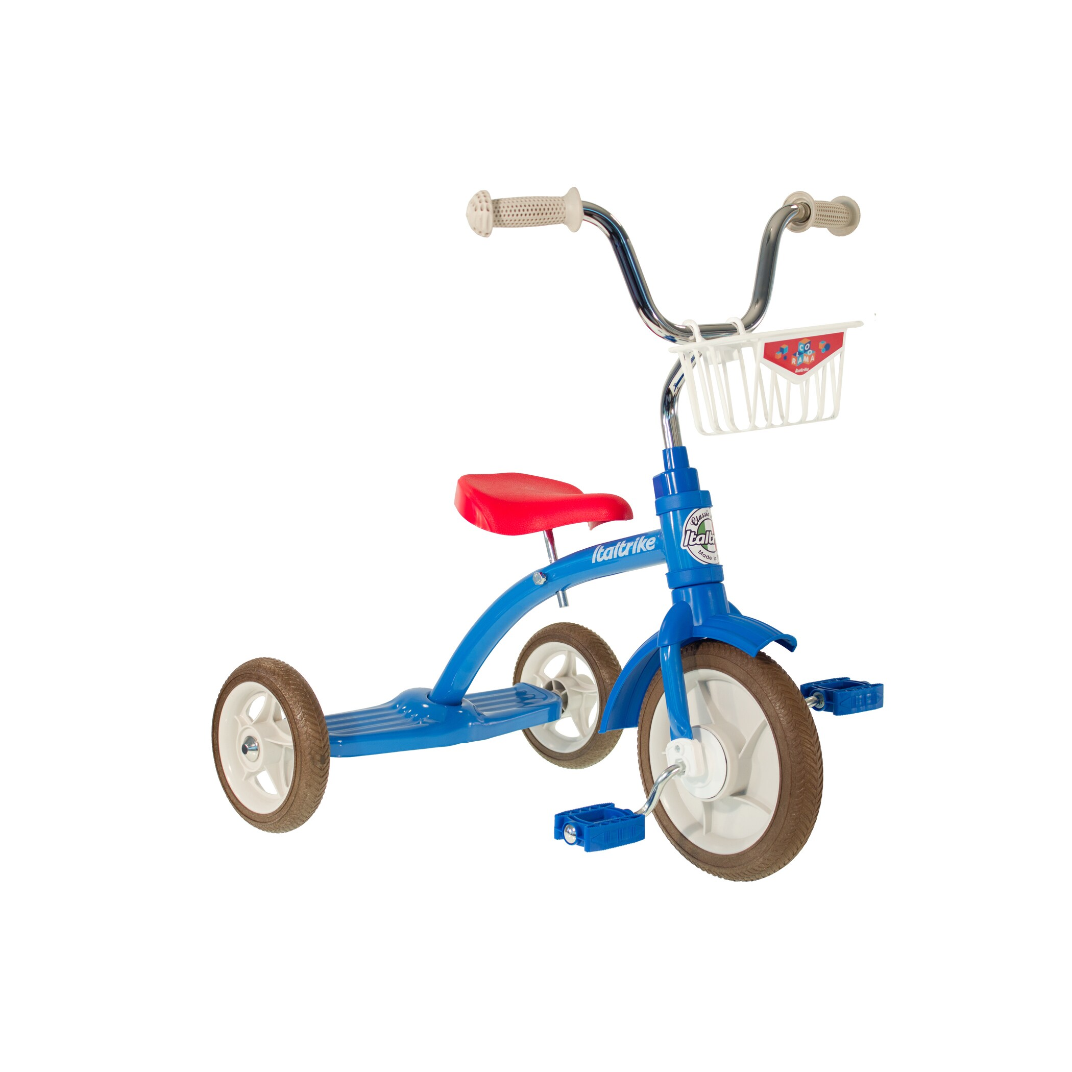 Italtrike Super Lucy Colorama Blue Tricycle (Blue)