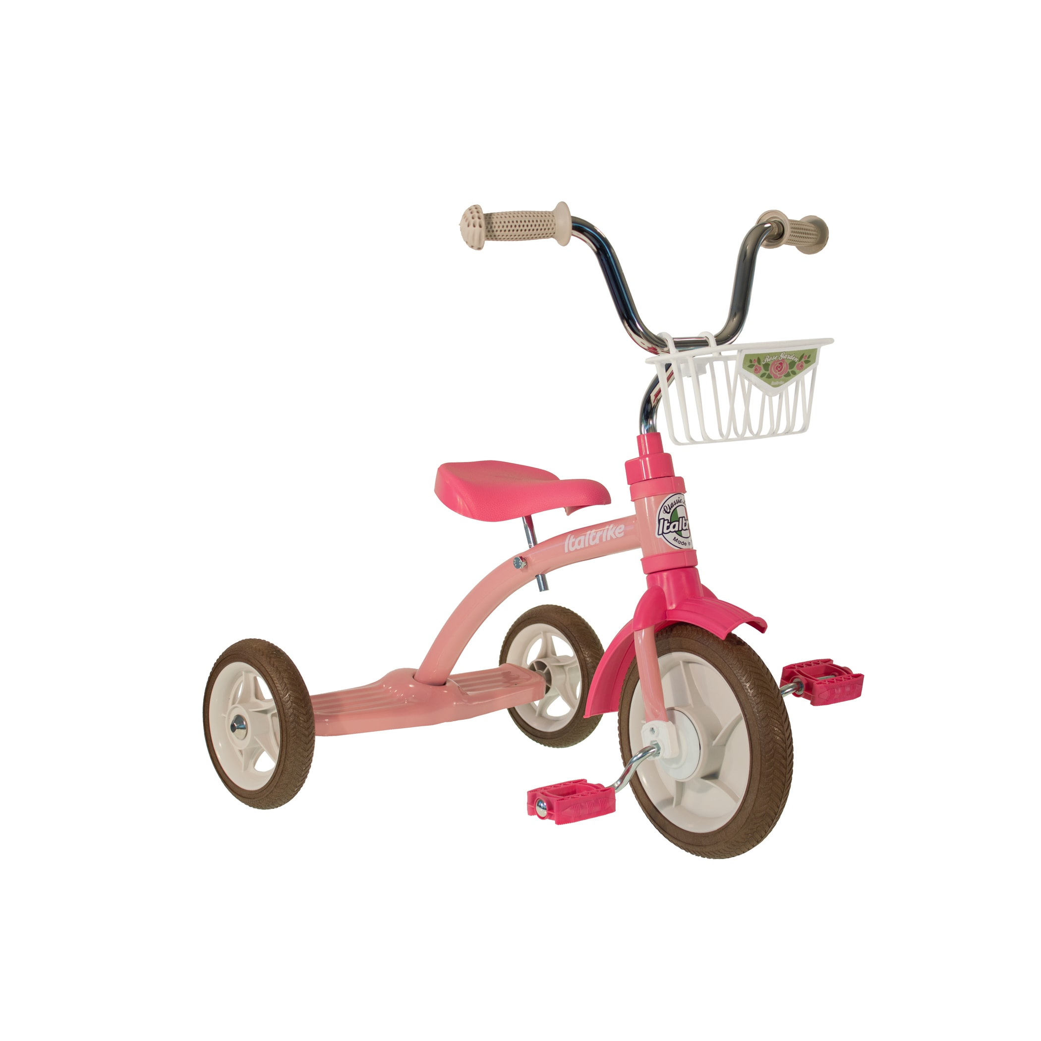 Italtrike Super Lucy Rose Garden Tricycle - 7111PINK