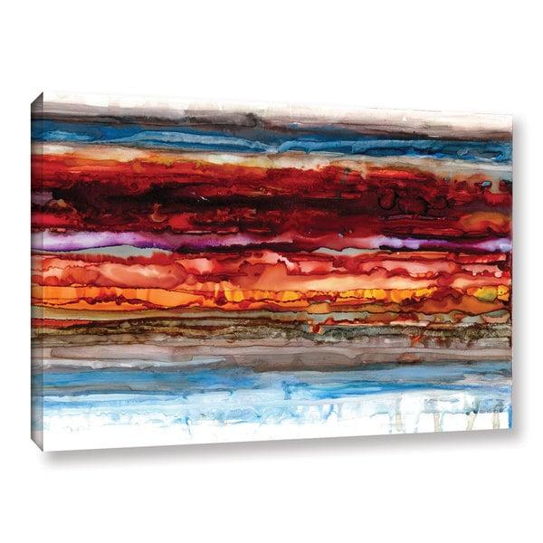ArtWall Norman Wyatt JR's 'Innermost' Gallery Wrapped Canvas