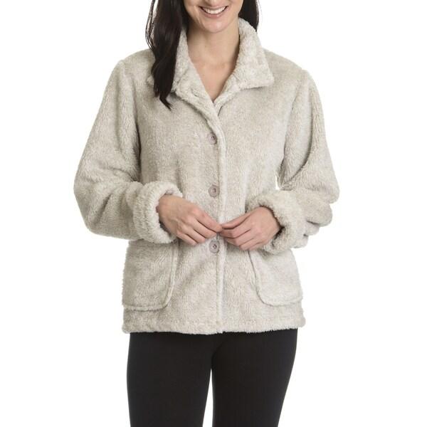 La Cera Women's Plush Jacket