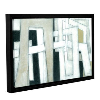 ArtWall Norman Wyatt JR's 'Bridges' Gallery Wrapped Floater-framed Canvas
