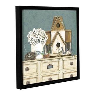 ArtWall Jo Moulton's Spring Fling, Gallery Wrapped Floater-framed Canvas