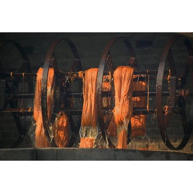 """Indo Wink Orange Rug - 7'6"""" x 9'6"""""""