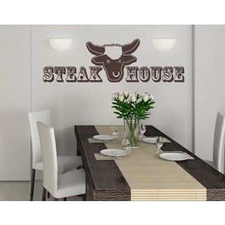 Steak House Wall Decal