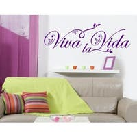 Viva La Vida- Floral Wall Decal