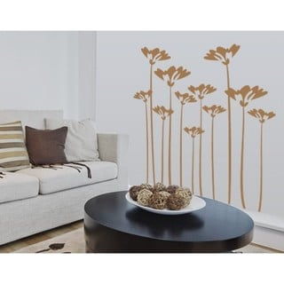 Flower Stalks Wall Decal