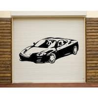 Sports Car Wall Decal