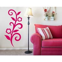 Designer Flower Wall Decal
