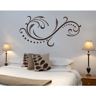Calm Wave Wall Decal  sc 1 st  Overstock.com & Shop Abstract Vinyl Wall Art | Discover our Best Deals at Overstock.com