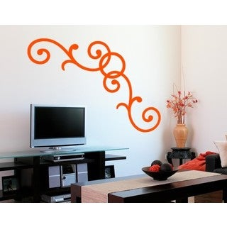 Curl Corner Wall Decal