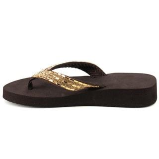 Flip Flop Wedge Sandals