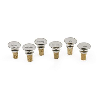 Set of 6 Bottle Stoppers