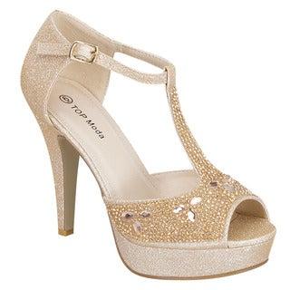 T-strap Party Sandals