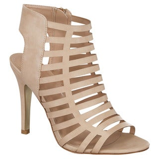 Cage Stiletto Sandals