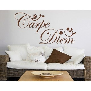 Carpe Diem-flowers Wall Decal