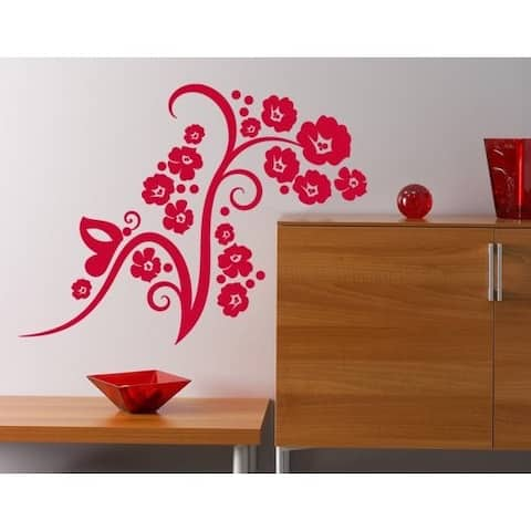 Flower Fascination Wall Decal
