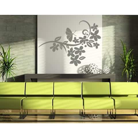 Flower Verve Wall Decal